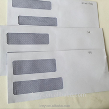 550 SELF SEAL Double Window Security Envelopes - Designed for QuickBooks Checks, Business Checks, and Computer Checks - Security