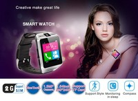 New arrival MTK6260A 1.5 inch HD touch screen watch with Compass /bluetooth watch phone