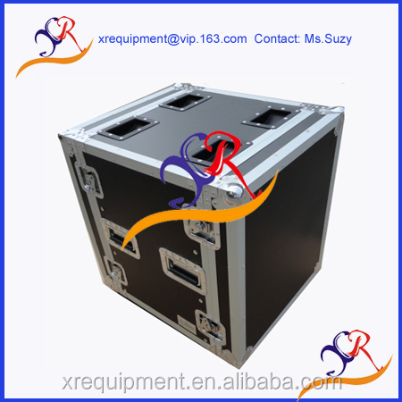High quality 8U Amplifier deluxe flight case