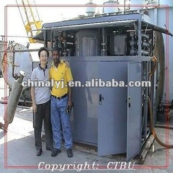 Waste/Used Industry Hydraulic Oil Filtration Cleaning Machine / oil purifier /oil reclaiming