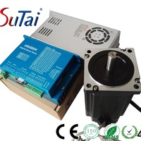 closed loop step servo motor and driver cheap nema 34 cnc machine kit with encoder 86HBS