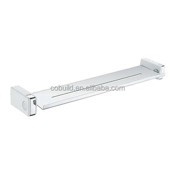 stainless steel bathroom accessories set wall shelf with bracket