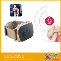 Best price elder smart watch for android mobile phone with gps wifi
