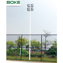 custom size galvanized steel stadium street garden backyard basketball court light poles used parking lot light poles