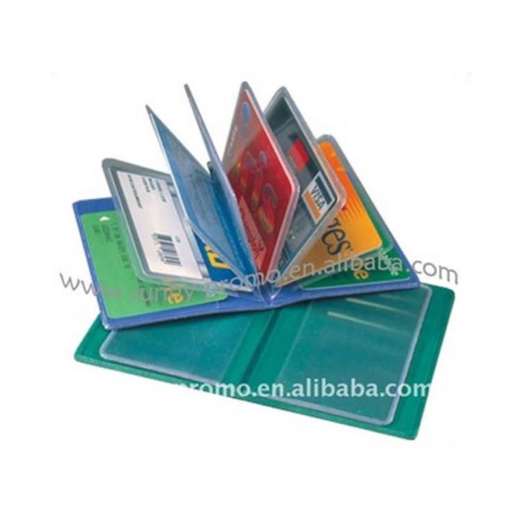 High quality pvc bank busines name card holder