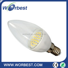 E14 Energy Saving LED Candle Light Bulb 3W 5W AC 220V