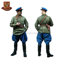 Hot sale kits officer custom make resin model kit figures