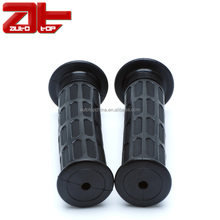 "Natural Rubber Motorcycle Handle Grip, 7/8"" Motocross Handlebar Grips"