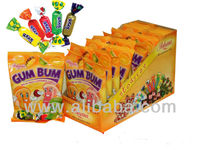 GUM BUM fruit chewy candy