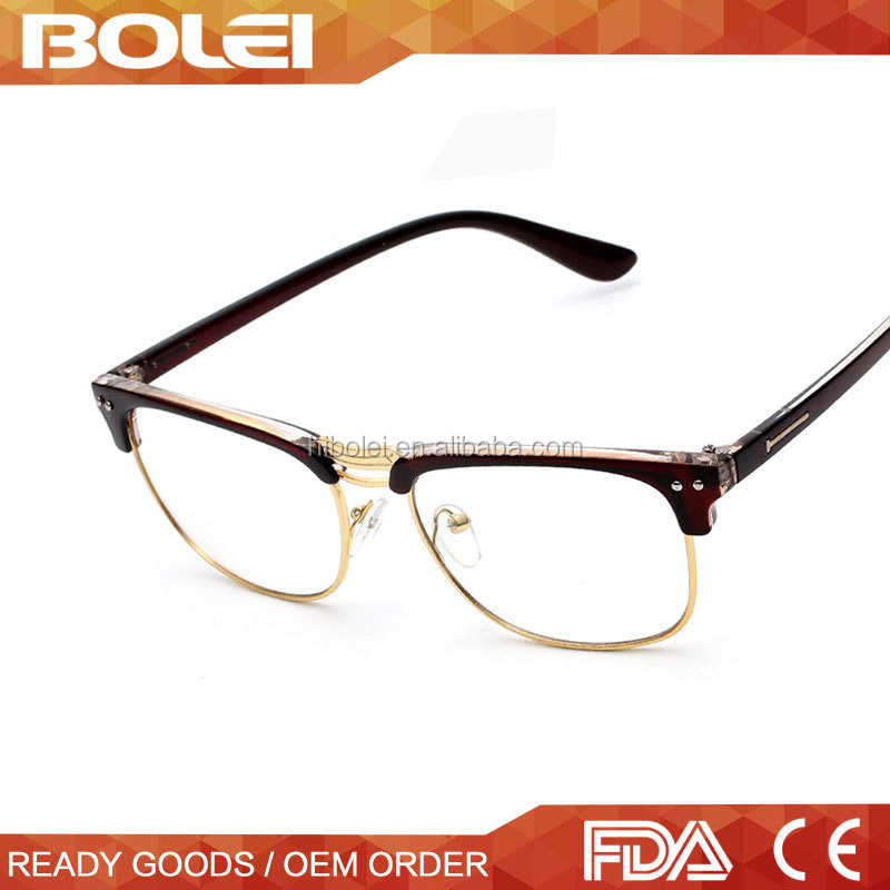 Italian Brand 2015 New Model Eyewear Optical Frame Glasses with Ant Radiation Lens