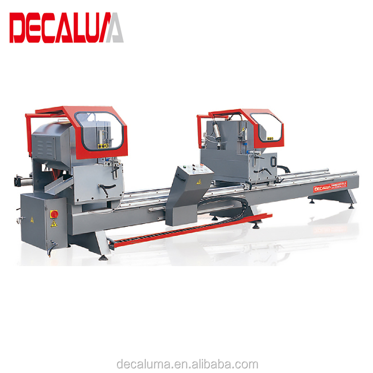 DECALUMA Aluminum Profile PVC High Precision Double Cutting Mitre Saw