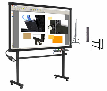 China interactive whiteboard, portable smart board with whiteboard software