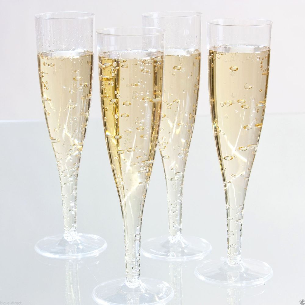 party use Plastic champagne glass