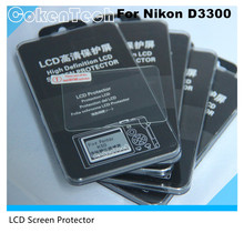 CokenTech Self-adhesive 0.3mm Optical glass reuse Camera LCD Screen protector for Nikon D3300