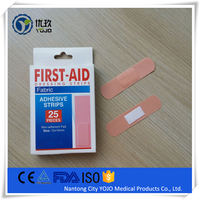 Adhesive Band Aid, Flexible Fabric&Sterile First Aid Bandage