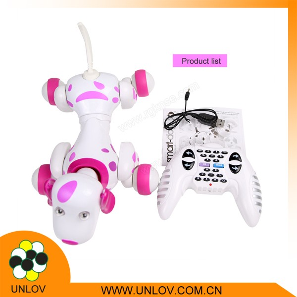RK700 Electronic Toy For Children /Intelligent Dog/Sounding RC Toys Dog