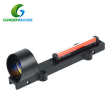 Greenbase 1X28 Collimeter Sight Optic Fiber Red Circle Dot Sight Tactical Scope for Hunting