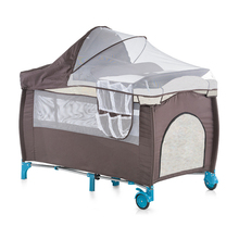 Good quality second layer Baby playpen travel cot baby crib European standard EN716 playpen