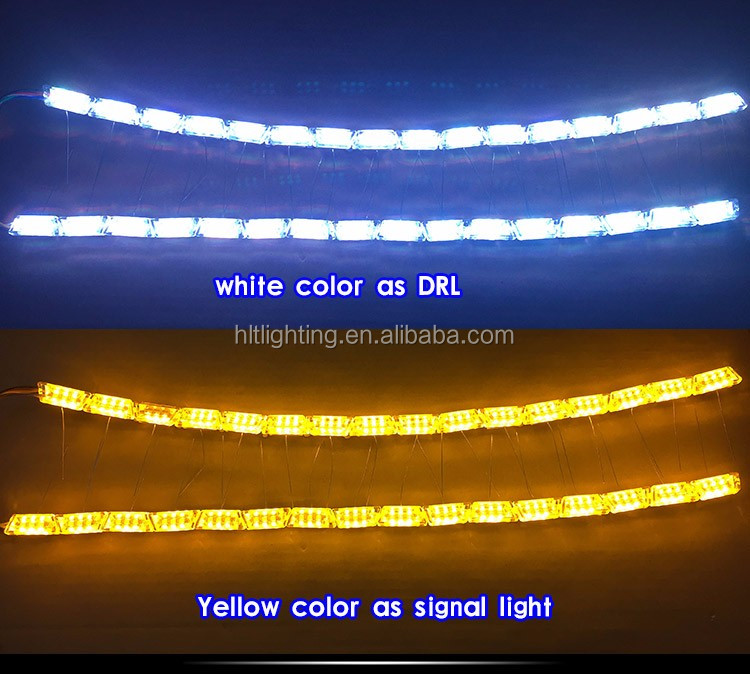 High Quality Newest LED RGB Day Time Running Llight With Turn Signal