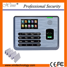 New fingerprint biometric time attendance termina with 3000 templates of fingerprint capacity