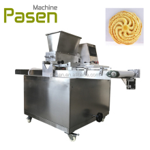 Automatic small biscuit making machine / biscuit making production line / electric mini cookie maker snack machines