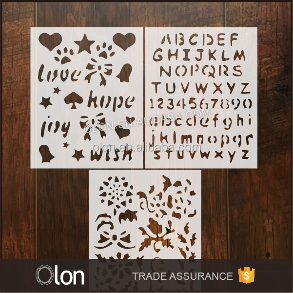 Wholesale kids drawing stencil