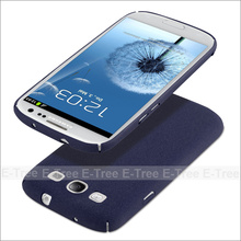 Ultra Slim hard PC Matt Colorful Phone Case Back Cover For Samsung Galaxy S3