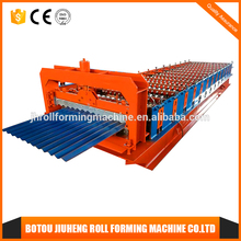 wheel rim galvanized wave profile zinc aluminium roofing sheets roll forming machine