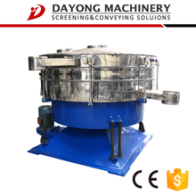 Feature rotary gravel sifter with sieving rate