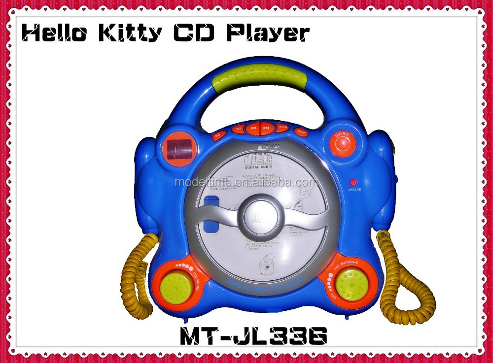 New Hello Kitty kids portable CD Player with speaker