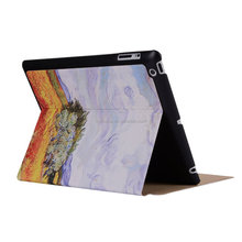 New 2015 Colorful Fashion For Apple for New IPad Case Pu Leather smart Cover Case For IPad 2/3/4