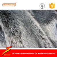 STABILE luxury silver fox faux fur