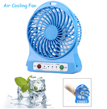 Wholesale Strong Wind Air Cooling Fan, New Portable Rechargeable Mini Fan for Travel