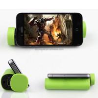 Free Sample bluetooth speaker with power bank, wifi speaker with holder/stand