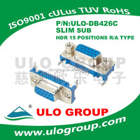 D-SUB DB 9 male female connector from ULO GROUP