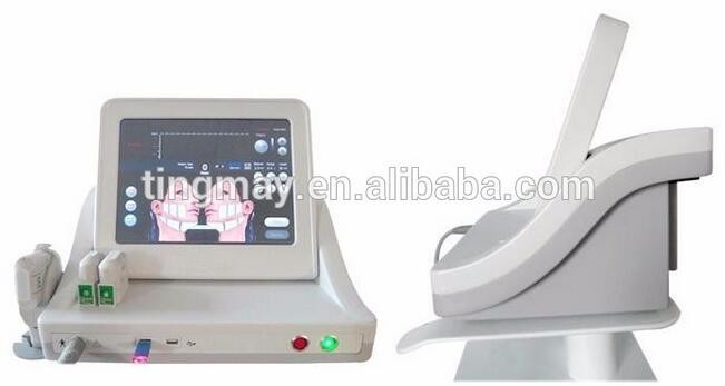 Portable Hifu wrinkle removal hifu for facial beauty&salon machine with vertical stand