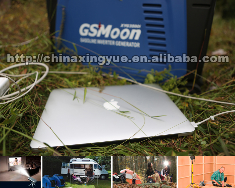 700W digital inverter petrol mini small boat generator