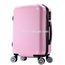 TOP SALE large capacity durable abs pc luggage women travel trolley