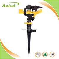 Sprinkler irrigation system ABS mobile water rainbird mist hunter garden irrigation sprinkler