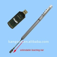 laser pointer presenter with extendable pointer
