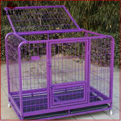 Round Corner Tube Dog Kennel With Wheels For Dogs Sale Cheap