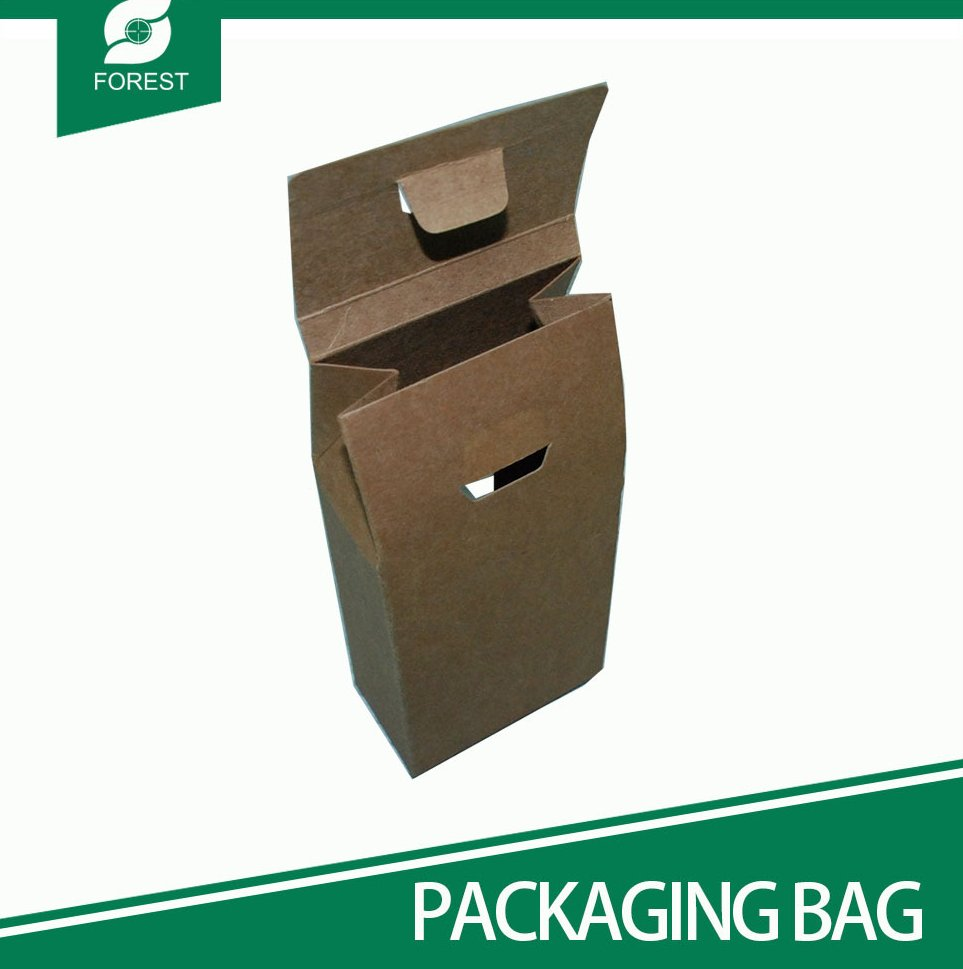 HOT SALES KRAFT PAPER BREAD BAG TAKE AWAY FAST FOOD PAPER BAG
