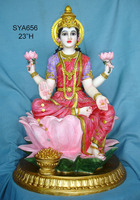 "wholesale big size 23"" india god & goddess Hindu god decoration Lakshmi Maa"