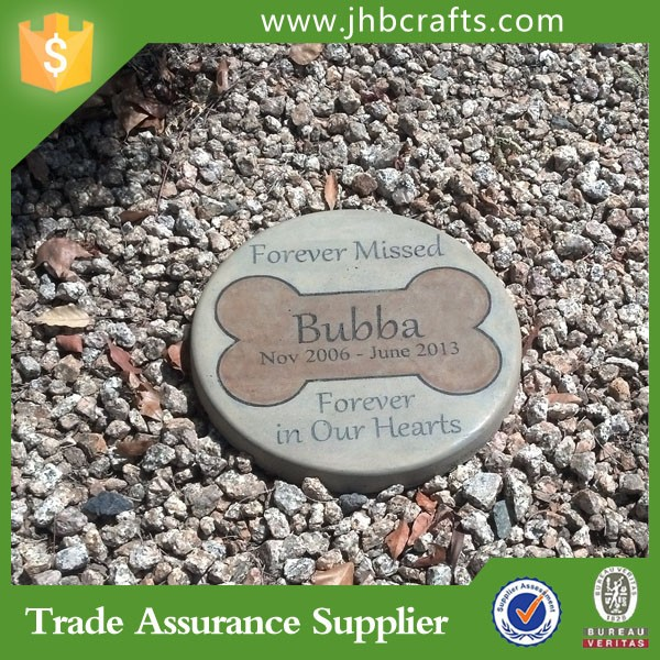 Custom Pet Memory Cat Stone Garden Decoration