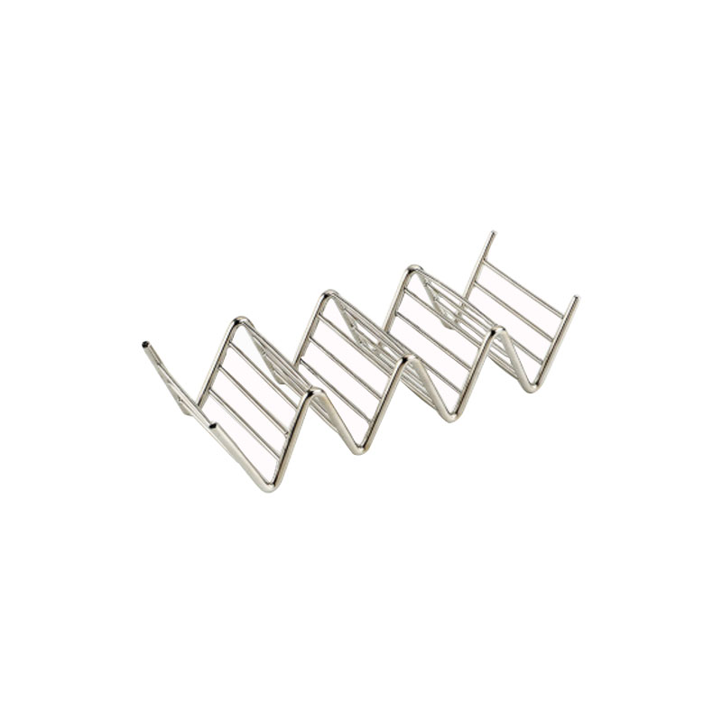 Metal taco rack b7vh0t stainless steel taco holder stand for sale