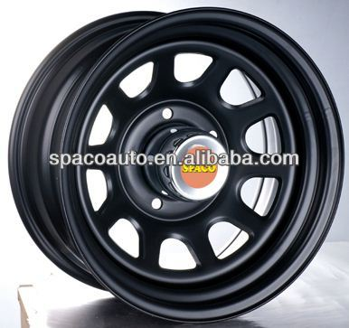 Newest design style steel wheel rims 16 inch for SUV