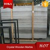 Cheap Price Of A Crystal Wooden Marble Slab