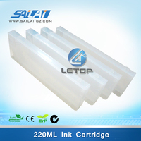 220ml ink box refill cartridge for solvent printing machine