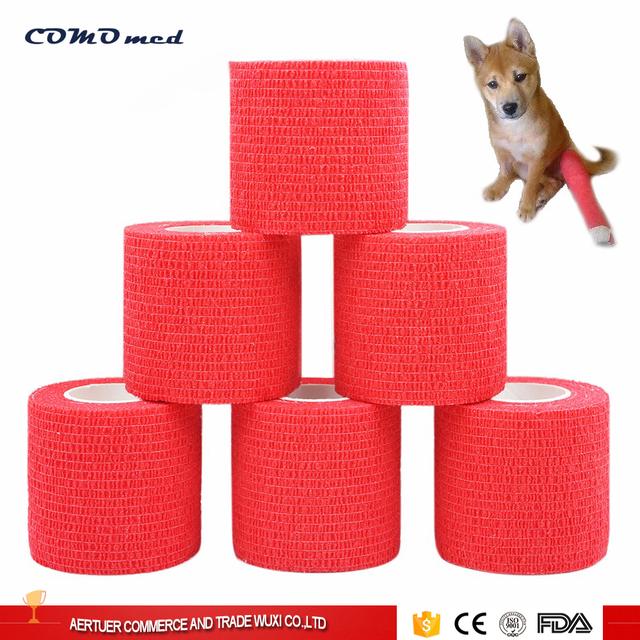 CE/FDA certificate colored latex printed elastic bandage