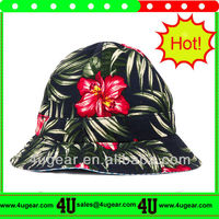 2014 hot promotion floral supreme bucket hats,custom made bucket hats,nike bucket hat